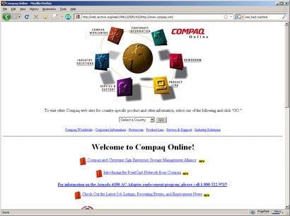 google 1996. A pre-Google version of