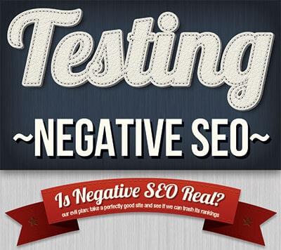 Testing Negative SEO