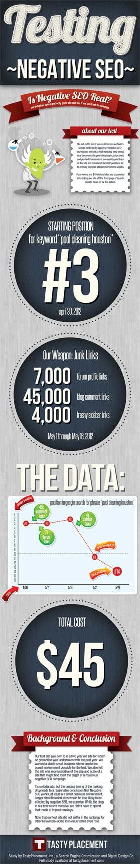 Negative SEO Infographic